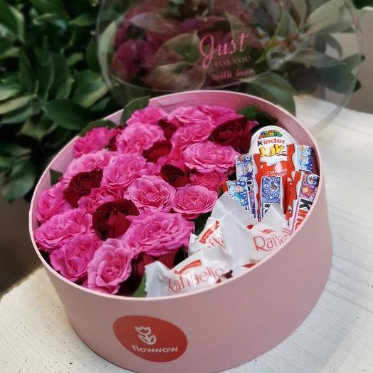 Цветы с шоколадом