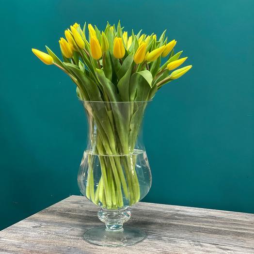 Охапка тюльпанов