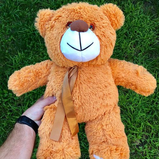 Плюшевий ведмедик 50 см карамельний