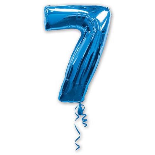 Цифра 7 гелий