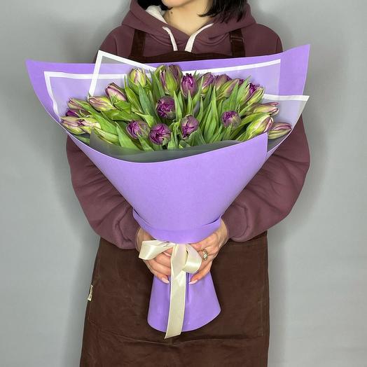 Тюльпаны пионовидные Голландия