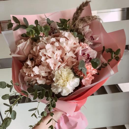 Розовая пудра
