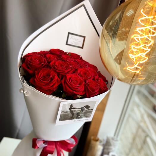19 fragrant roses