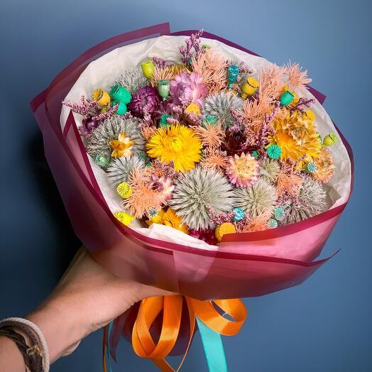 Букетик сухоцветов