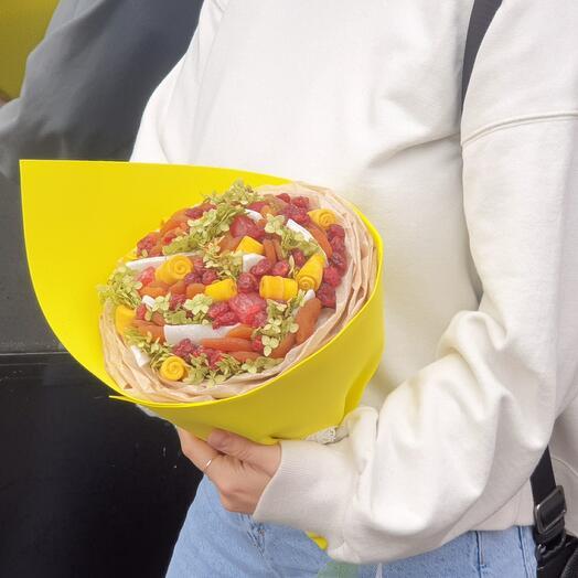 Сухофруктовый букет Кокос и Манго