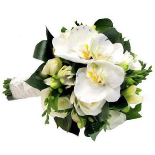 Свадебный букет Жасмин: букеты цветов на заказ Flowwow