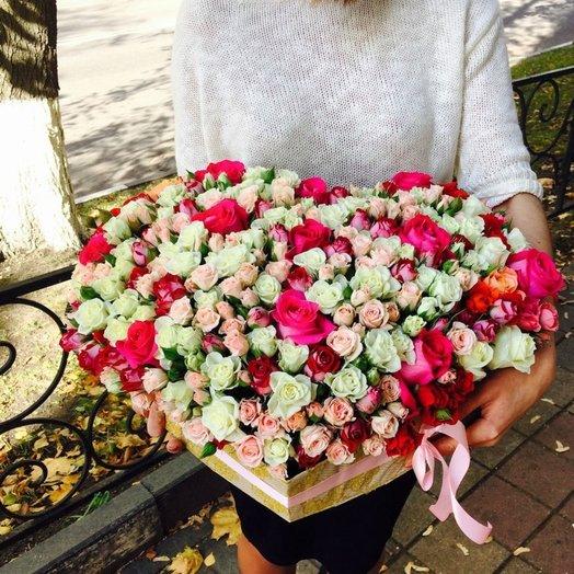 Моё сердце: букеты цветов на заказ Flowwow
