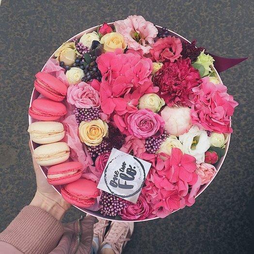 Box 55: букеты цветов на заказ Flowwow