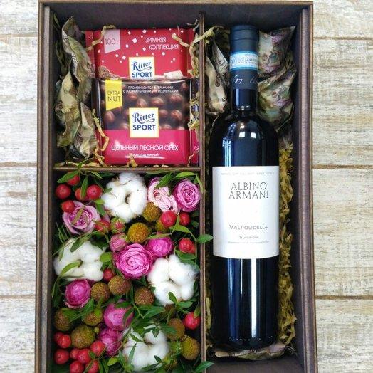 Большая коробка Albino Armani