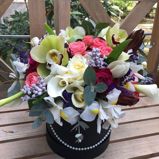 Изысканный комплимент: букеты цветов на заказ Flowwow