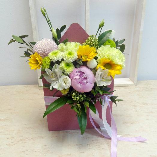 Конверт 1: букеты цветов на заказ Flowwow