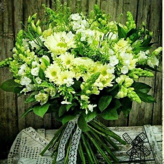 Букет  Лужайка: букеты цветов на заказ Flowwow