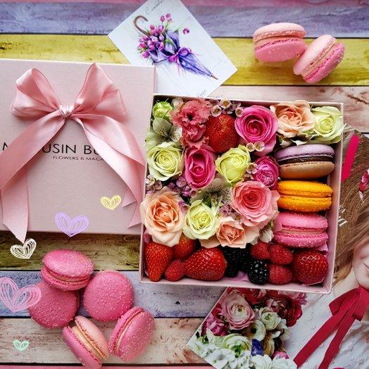 Буйство красок: букеты цветов на заказ Flowwow
