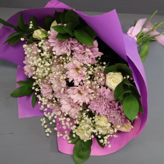 """Bouquet on September 1 """"School time"""""""