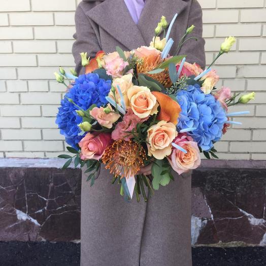 Синеглазая: букеты цветов на заказ Flowwow