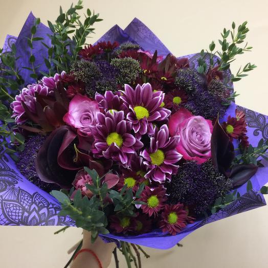 Волшебная ночь: букеты цветов на заказ Flowwow