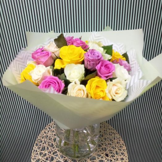 25 роз mix: букеты цветов на заказ Flowwow