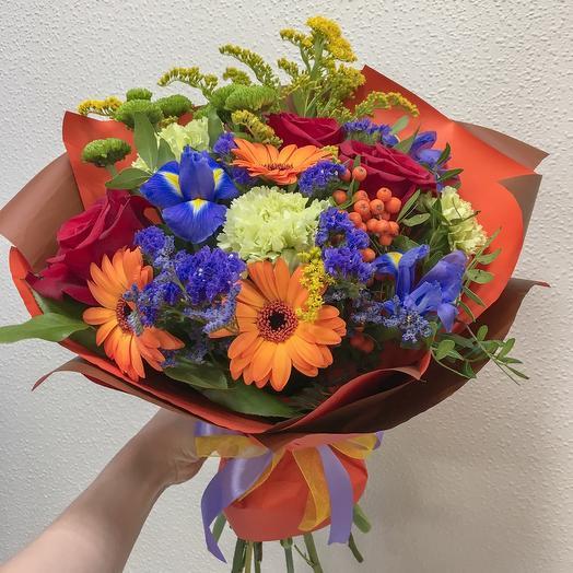 Цветочный микс 2: букеты цветов на заказ Flowwow
