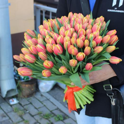 Тюльпаночка: букеты цветов на заказ Flowwow
