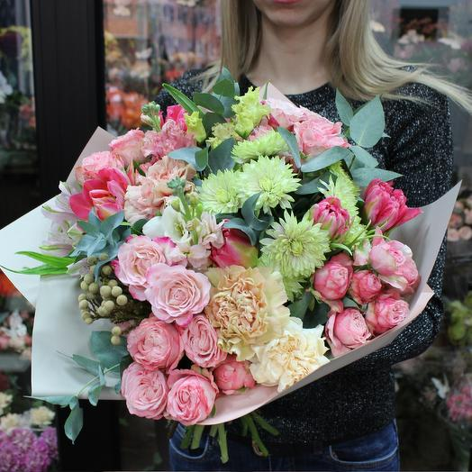 """A beautiful bouquet of tulips """"Assorted"""""""