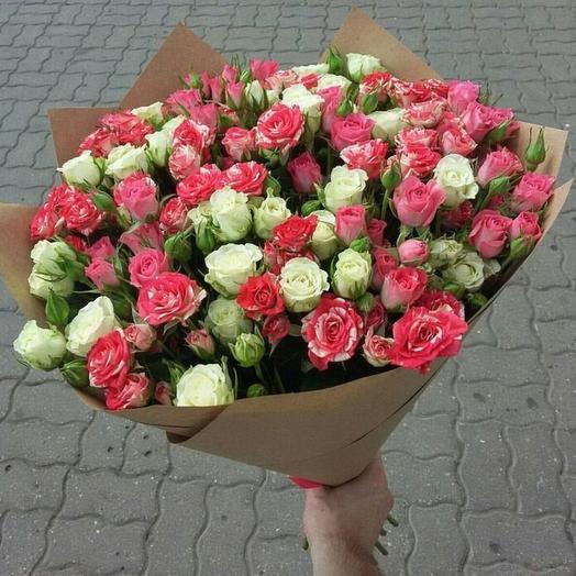 Букет 65: букеты цветов на заказ Flowwow