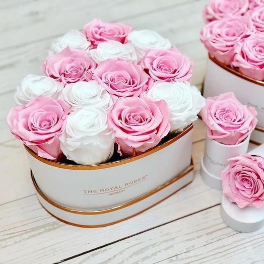 Сердце: букеты цветов на заказ Flowwow