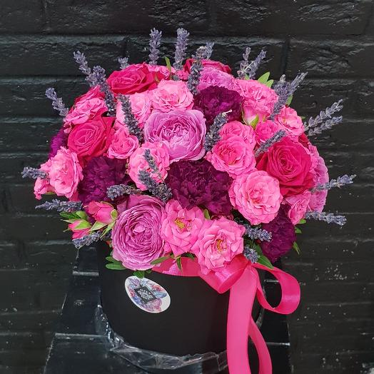 Ягодная коробочка: букеты цветов на заказ Flowwow