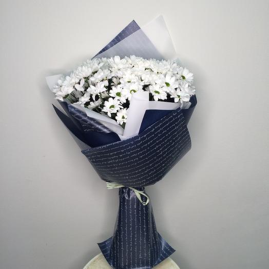 «Ромашковый вечер»: букеты цветов на заказ Flowwow