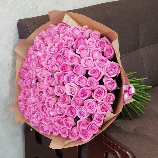 101 роза. Букет 81: букеты цветов на заказ Flowwow