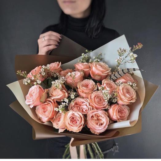 Букет 92: букеты цветов на заказ Flowwow