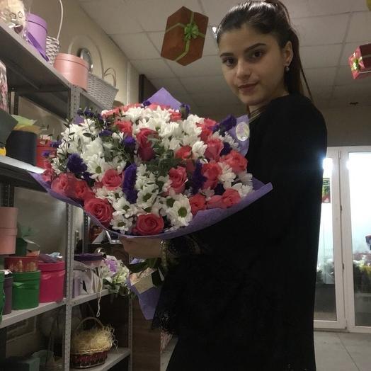 Парижские страсти: букеты цветов на заказ Flowwow
