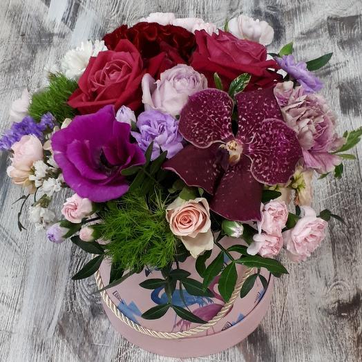 Малиновая карамелька: букеты цветов на заказ Flowwow