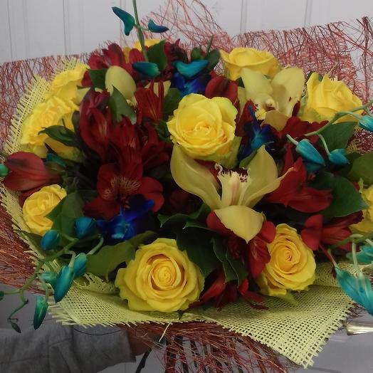 Тропиканка: букеты цветов на заказ Flowwow