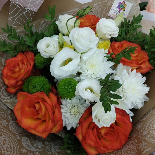 Лёд и пламя: букеты цветов на заказ Flowwow