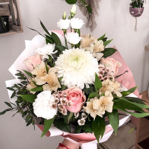 Ослепительное вдохновение: букеты цветов на заказ Flowwow