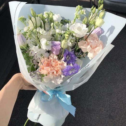 Нежный 💜: букеты цветов на заказ Flowwow