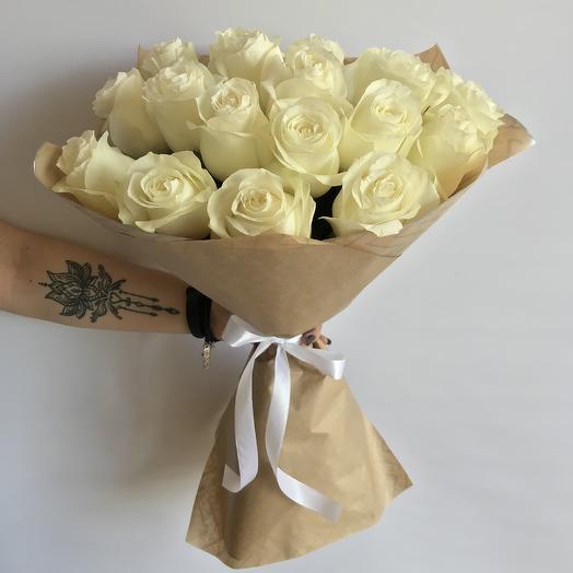 Букет из 25 Премиальных Эквадорских роз