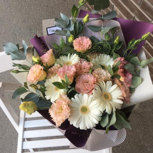 Букетик для неё: букеты цветов на заказ Flowwow