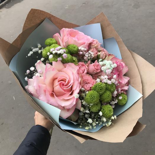 Букет цветов⭐️: букеты цветов на заказ Flowwow