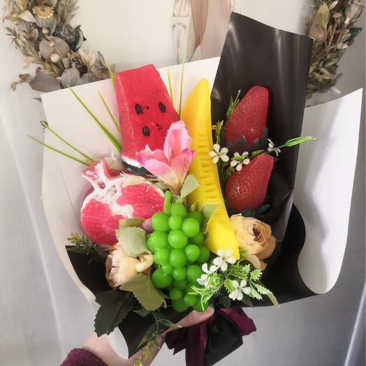 Букет из мыла ручной работы: букеты цветов на заказ Flowwow