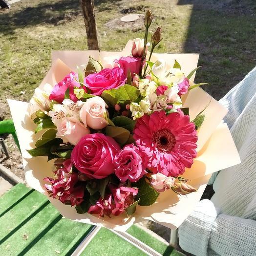 """Букет """"Малина"""": букеты цветов на заказ Flowwow"""
