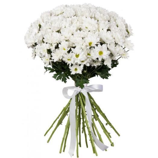 """Букет хризантем """"Вайт"""": букеты цветов на заказ Flowwow"""