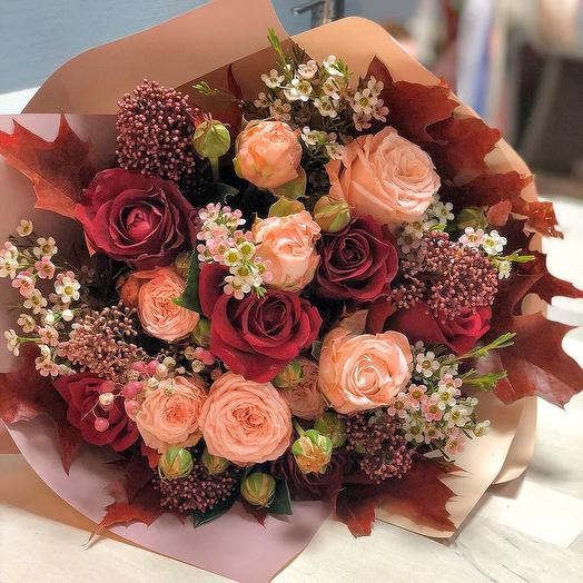 0002: букеты цветов на заказ Flowwow