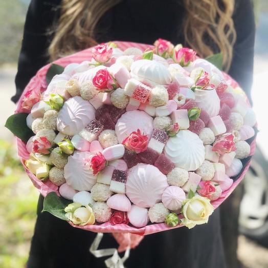 Сладкий букет «Нежность ..»: букеты цветов на заказ Flowwow
