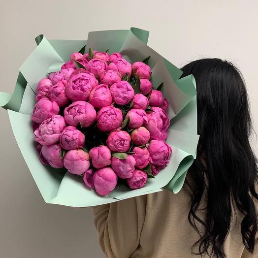 Пионотерапия: букеты цветов на заказ Flowwow