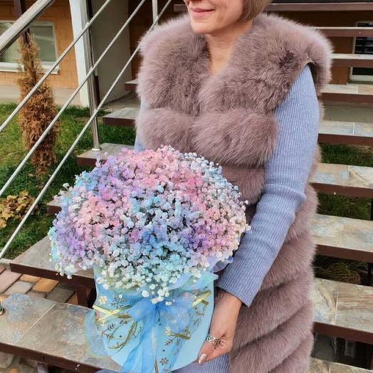 Радужная коробка: букеты цветов на заказ Flowwow