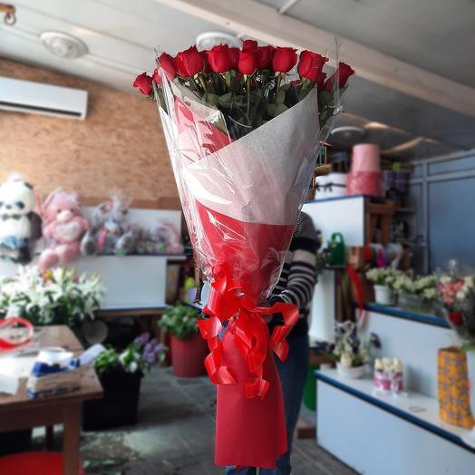 Букет из 35 голландских роз