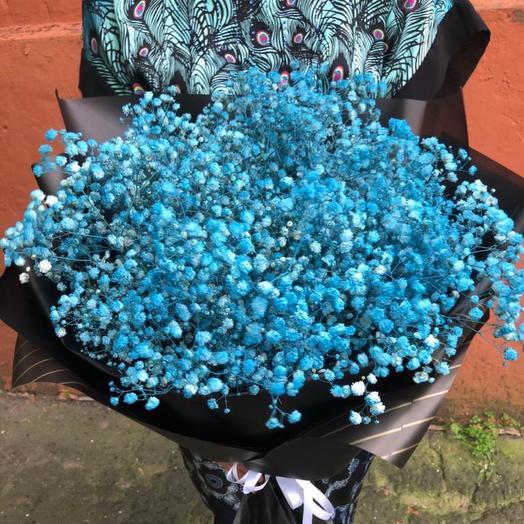 13 гипсофил голубах «Облачко»: букеты цветов на заказ Flowwow