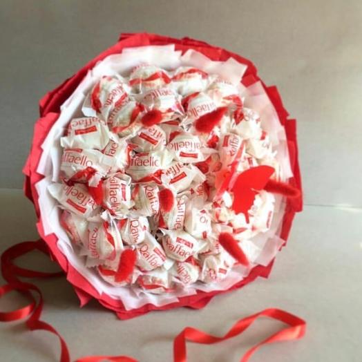 A bouquet of 45 of raffaelo