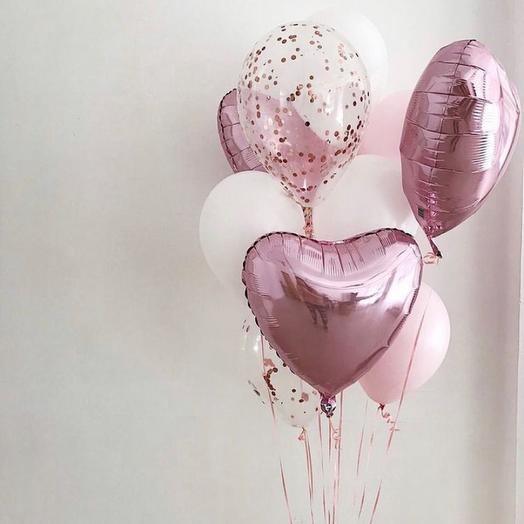 Набор шаров женских «Розовая мечта»